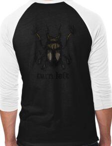 Turn Left Men's Baseball ¾ T-Shirt