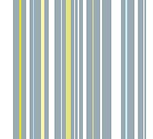 Muted Stripes Alternative Barcode Photographic Print