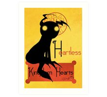 Heartless noir Art Print