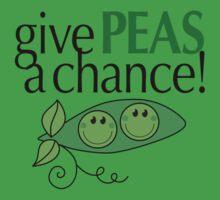 Give PEAS a chance! Kids Tee