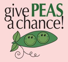 Give PEAS a chance! One Piece - Long Sleeve