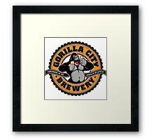 Gorilla City Brewery Framed Print