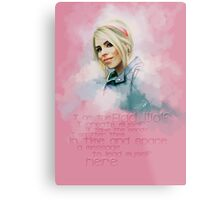 Rose Tyler Metal Print
