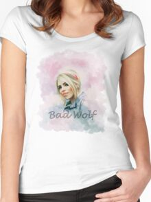 Rose Tyler Women's Fitted Scoop T-Shirt