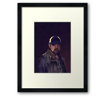 Bobby Singer Framed Print