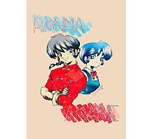 Ranma ♥ Akane Photographic Print