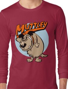 Muttley Laughing Long Sleeve T-Shirt