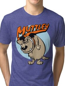 Muttley Laughing Tri-blend T-Shirt