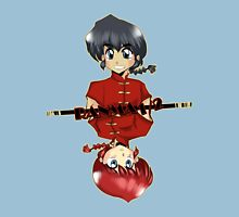 Ranma 1/2 Womens Fitted T-Shirt