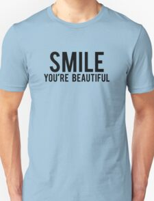 Smile You're Beautiful Unisex T-Shirt
