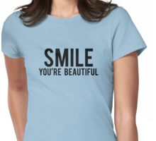 Smile You're Beautiful Womens Fitted T-Shirt