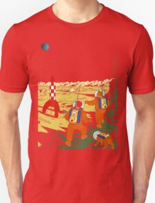 Explorers on the Moon Unisex T-Shirt