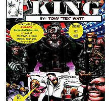 """Code Name: King""  - Comic Book Promo Poster  by TexWatt"