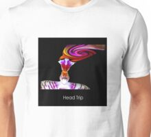 Head Trip - Orchid Alien Discovery Unisex T-Shirt