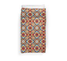 Colorful Geometric Motif Duvet Cover