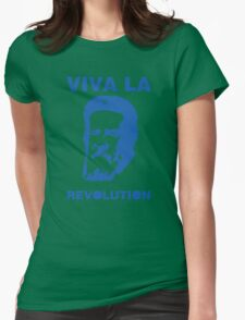 Viva la Revolution Womens Fitted T-Shirt