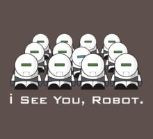 I See You, Robot. Kids Clothes
