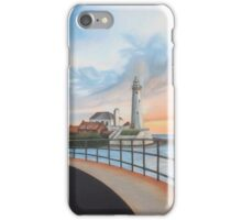 St. Mary's lighthouse iPhone Case/Skin