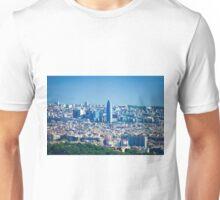 Barcelona City, Spain Unisex T-Shirt