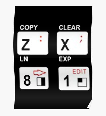 ZX81 Poster