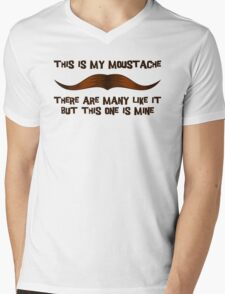 This is my Moustache. Mens V-Neck T-Shirt