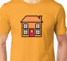 Retro TV Play School house logo graphic Unisex T-Shirt