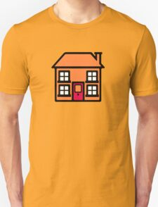 Retro TV Play School house logo graphic T-Shirt