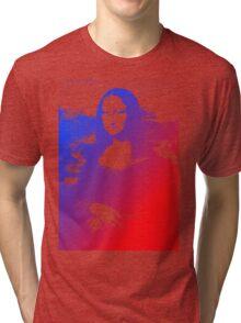 Purple Mona Lisa Tri-blend T-Shirt