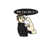 We Can Do It ! TJLC Photographic Print