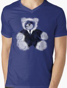 Nick Furry Mens V-Neck T-Shirt