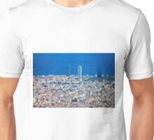 Barcelona City, Drone View Unisex T-Shirt