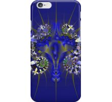 Indigo blooms iPhone Case/Skin