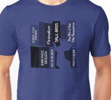 Designer Bookshelf Unisex T-Shirt