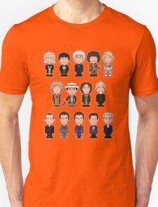 The Fourteen Doctors (shirt) Unisex T-Shirt