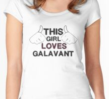 galavant tad Women's Fitted Scoop T-Shirt