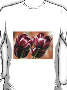 Singing of Spring - Quartet of Tulips T-Shirt