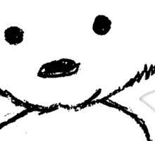 Bear Sketch Sticker