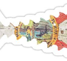 Tuna Tail Flordia Sticker