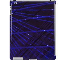 Abstract lens flare space or time travel concept background iPad Case/Skin