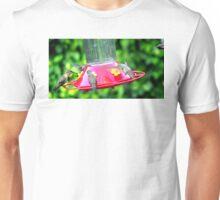 HUMMINGBIRD LUNCH TIME Unisex T-Shirt