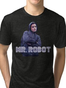 Mr Robot - Hackerman Aesthetic  Tri-blend T-Shirt