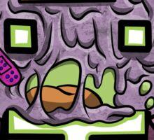 8-bit Zombie  Sticker