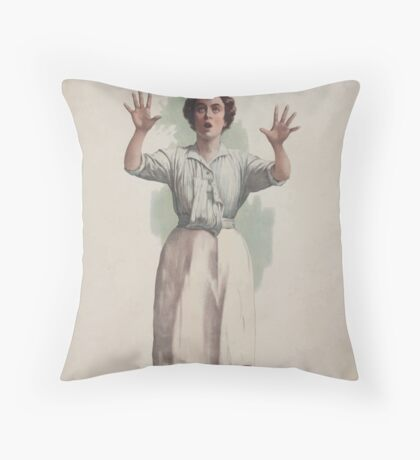Performing Arts Posters Charles Frohmans new comedy Oh Susannah 0846 Throw Pillow