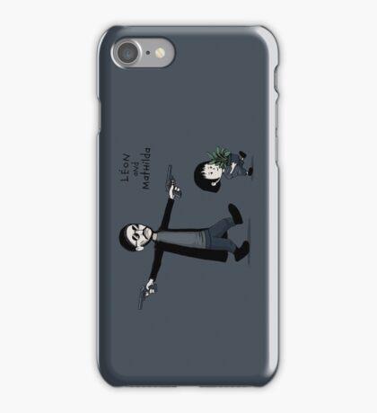 Leon and Mathilda iPhone Case/Skin