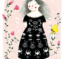 Black Dress by Judith Loske
