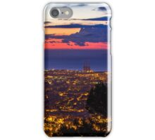 Sunrise over Barcelona, Spain iPhone Case/Skin
