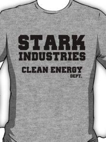 Stark Industries Clean Energy Dept. T-Shirt