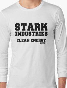 Stark Industries Clean Energy Dept. Long Sleeve T-Shirt