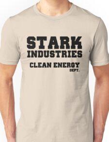 Stark Industries Clean Energy Dept. Unisex T-Shirt