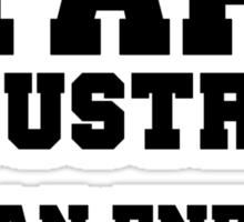 Stark Industries Clean Energy Dept. Sticker